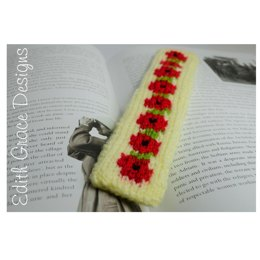 Red Poppy Bookmark