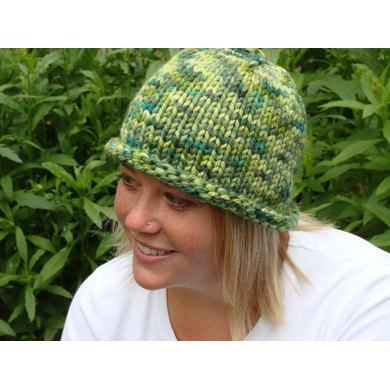 Quick-Knit Hat--Brief Instructions