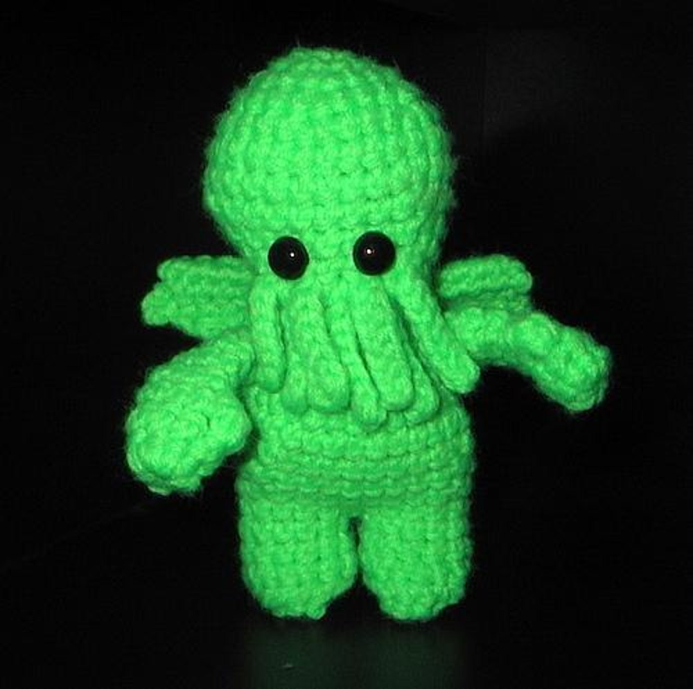 Cthulhu amigurumi monster crochet pattern by jenni love zoom bankloansurffo Choice Image