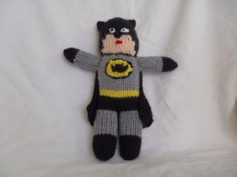 Batman Knitted Toy