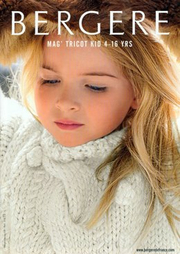 Bergere de France Magazine 158 - Tricot Kid 4-16 Years