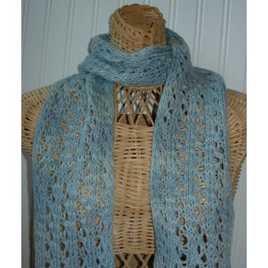 Lacy Ribs Scarf