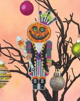 Satsuma Street Pumpkin King Cross Stitch Kit