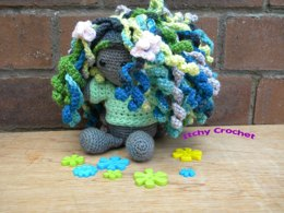Inchoate Vine Fairy Sweater and Wig Set