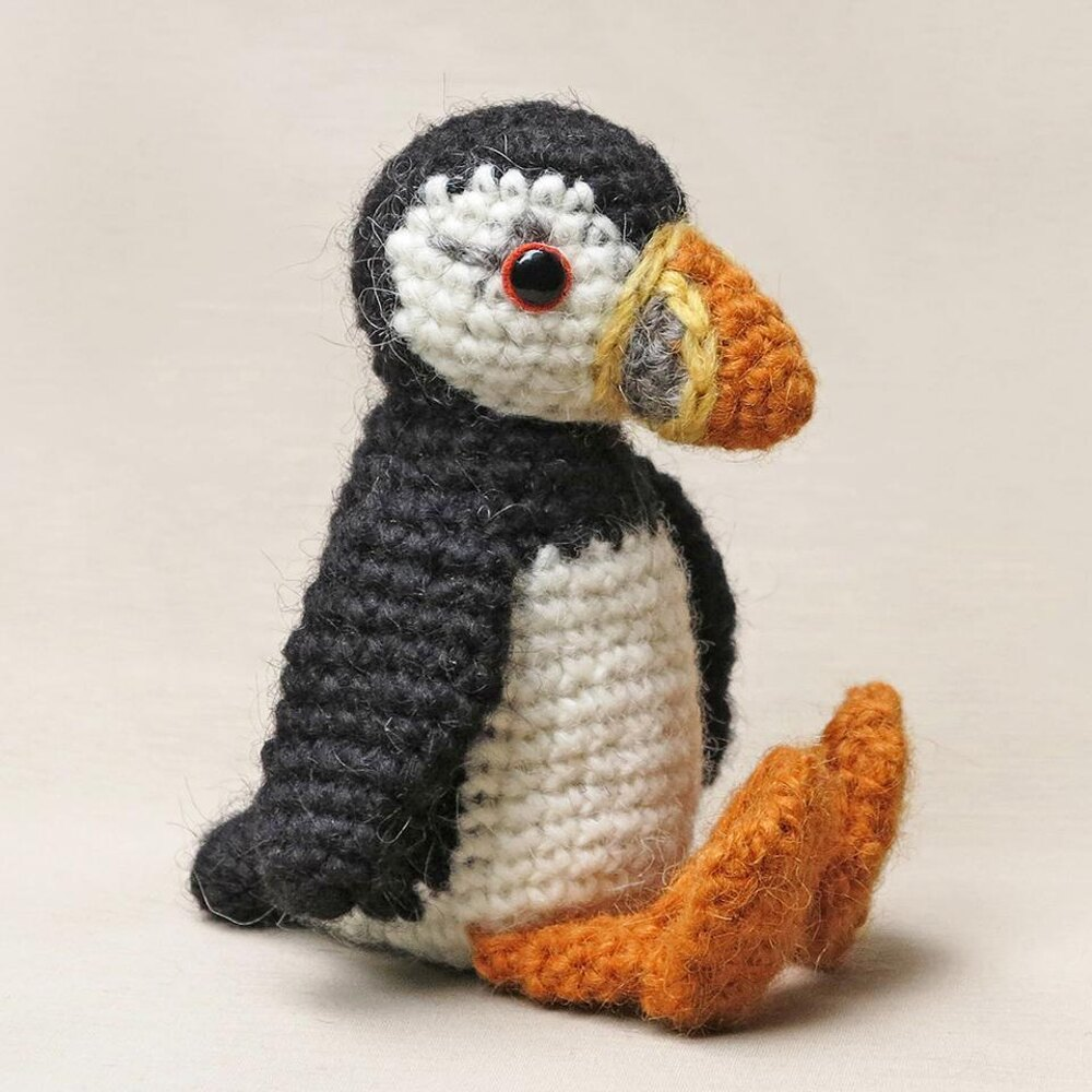 Plubby the puffin Crochet pattern by Son's Popkes