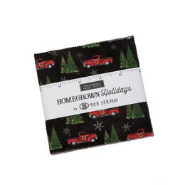 "Moda Fabrics Homegrown Holiday 5"" Charm"