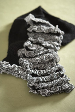 Tweedy Scarf  in Lion Brand Wool-Ease - 60643A