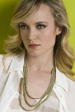 Adele Triple-Strand Necklace in S. Charles Collezione Crystal