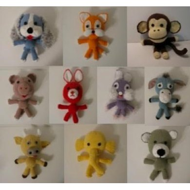 10 Knitkinz Animals