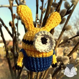 Easter Egg Minion Bunny