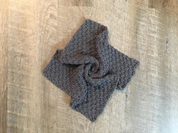 Knitted Square Double Moss