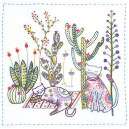 Un Chat Dans L'Aiguille Mexico Vacations Embroidery Kit