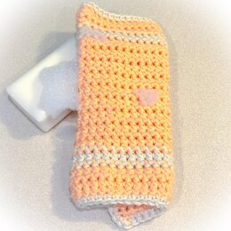 Farmhouse Paired Single Crochet Dishcloth