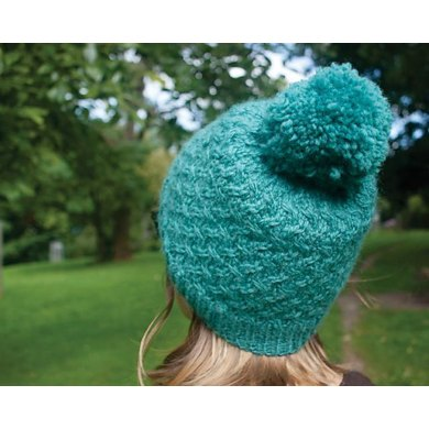 Agnes Cabled Chunky Bobble Hat