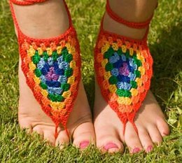 Barefoot Sandals - Colourful