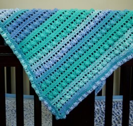 EASY BEGINNER' Bobble Baby Blanket