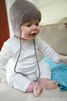 4Ply Baby Hunter Hat by Little Cupcakes