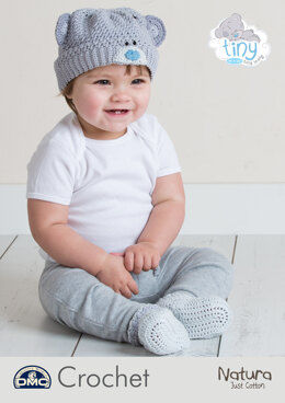 Tatty Teddy Baby Hat & Bootees Me To You in DMC Natura Just Cotton - 15430L/2 - Leaflet