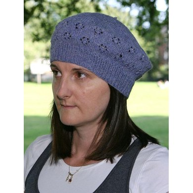 Forget-Me-Not Beret