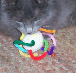 Wiggly Cat Toy C-128