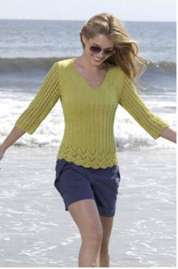a15ea86b48 Stitch Sample Pullover in Tahki Yarns Cotton Classic