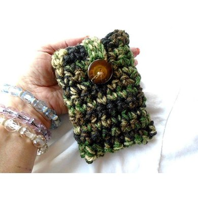 Fr-Cr Free Camouflage Mobile Phone Case