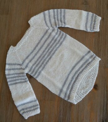 Striped Long Pullover for Kids