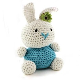 Bunny Rabbit Toy in Hoooked RibbonXL