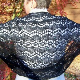 Sequined Spectacular shrug/shawl