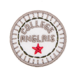 Bergere de France School Badge Motif - 10mm