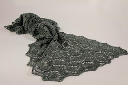 Crystalline lace shawl
