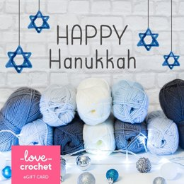 LoveCrochet eGift Card - Hannukah