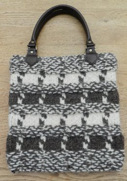 Cappuccino Felted Bag