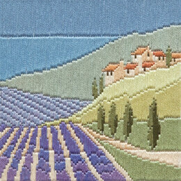 Derwentwater Designs Lavender Fields Long Stitch Kit