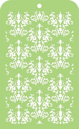 "Kaisercraft Mini Designer Templates 3.5""X5.75"" - Royal Damask"