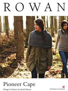 Pioneer Cape in Rowan Big Wool - D166 - Downloadable PDF