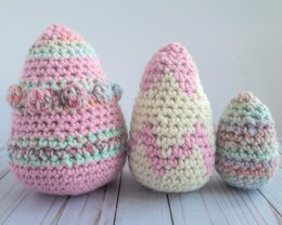 Hoppy Easter Egg Trio