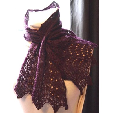 Feather Lace Neck Warmer