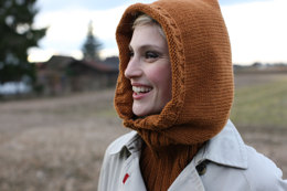 Hooded Cowl in Schachenmayr Northern - 8932 - Downloadable PDF