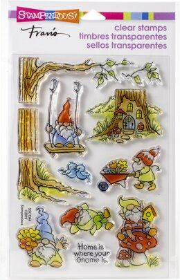 Stampendous Perfectly Clear Stamps - Gnoming Around