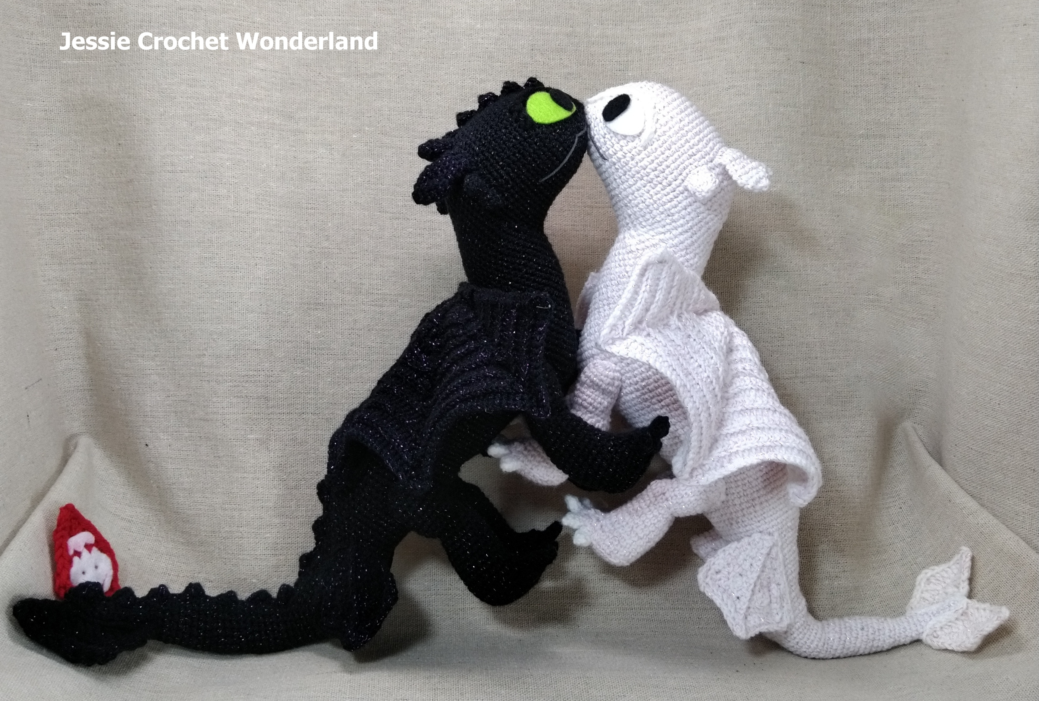 Toothless Fall In Love Crochet Project By Jessie Lin Lovecrochet