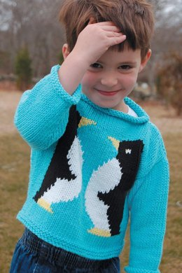Penguin Sweater to Knit