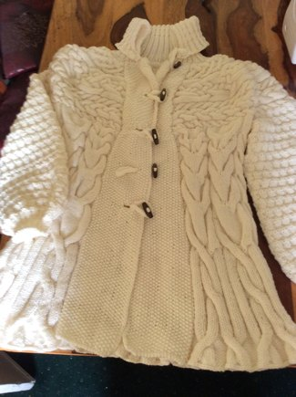 0ec3478fc931c6 Minimissimi Sweater Coat knitting project by Barbara D