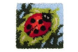 Grafitec Ladybird Latch Hook Rug Kit