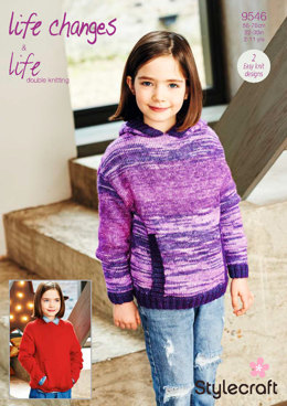 Sweaters in Stylecraft Life Changes & Life DK - 9546 - Downloadable PDF
