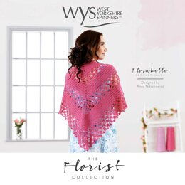 Crochet Shawl in West Yorkshire Spinners Signature 4ply - Downloadable PDF