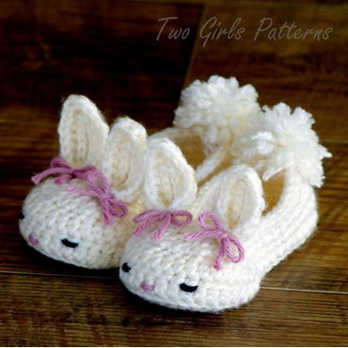 Hoppy Baby Bunny House Slippers Classic and Year-Round
