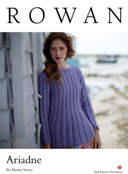 Ariadne Sweater in Rowan Creative Linen