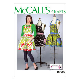 McCall's Misses' Aprons and Petticoat M7208 - Sewing Pattern