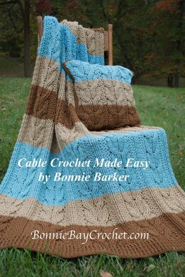 Moher Cabled Matching Pillow